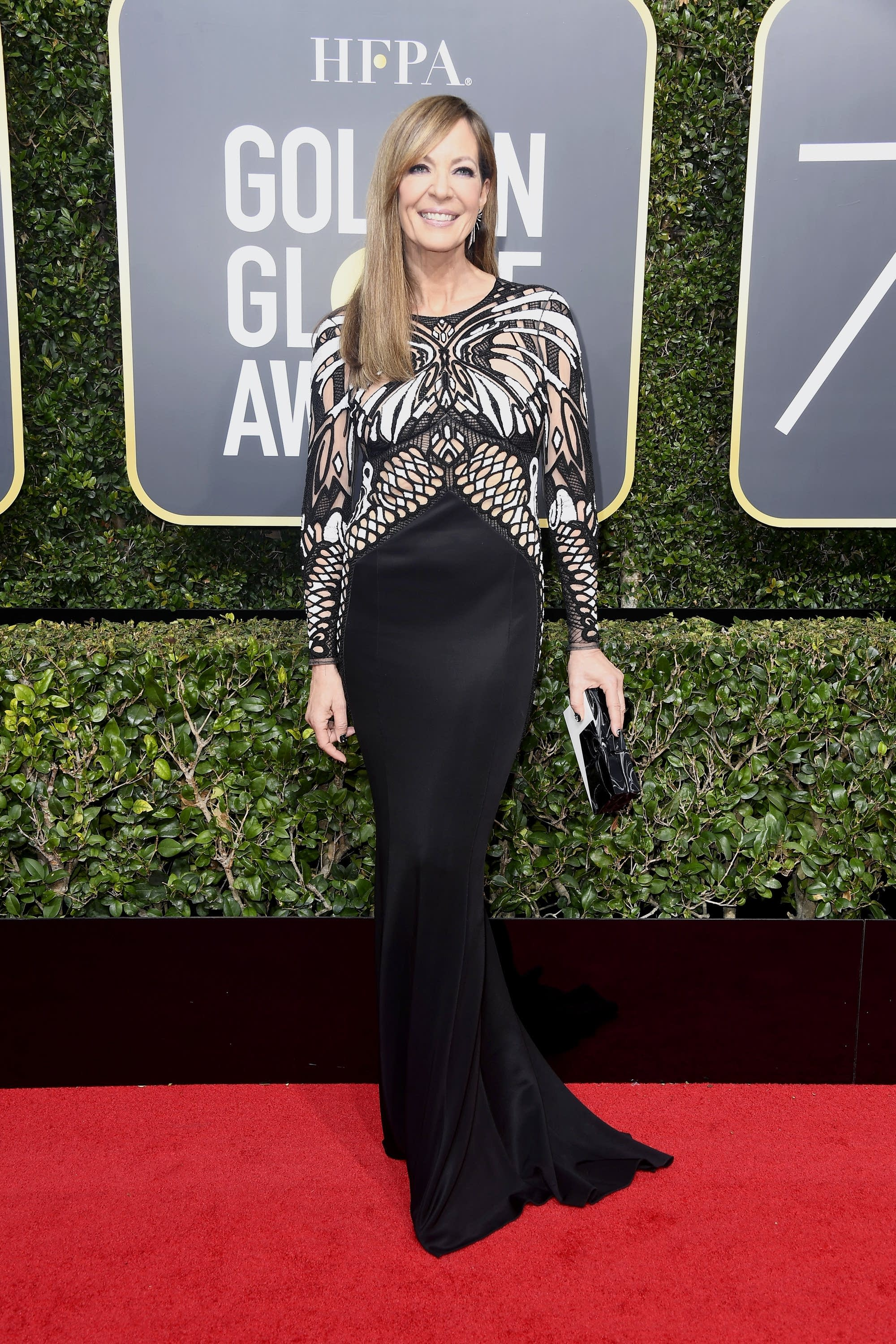Allison Janney attends the 75th Annual Golden Globe awards.