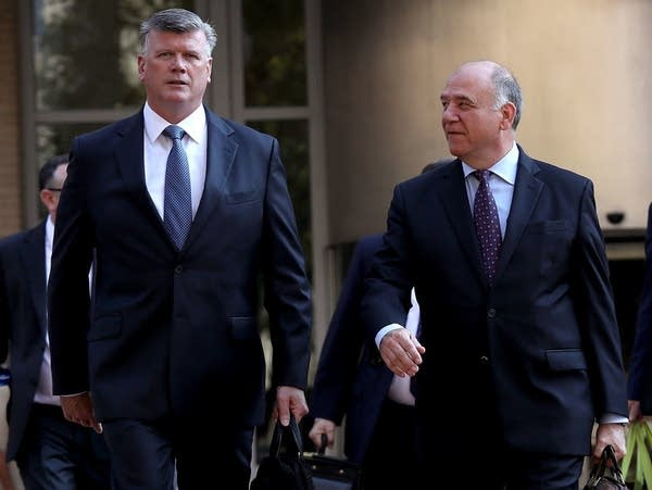 Kevin Downing and Thomas Zehnle, the attorneys for Paul Manafort.