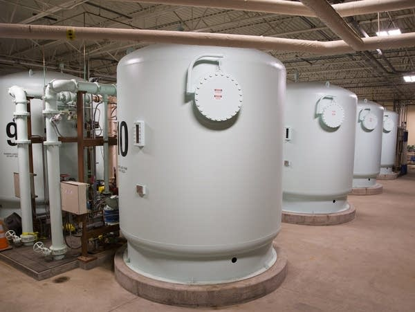 Des Moines Water Works' denitrification system