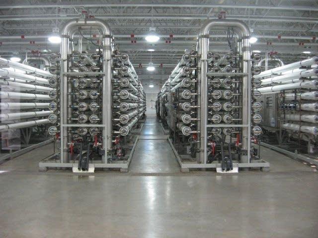 Racks of tubes
