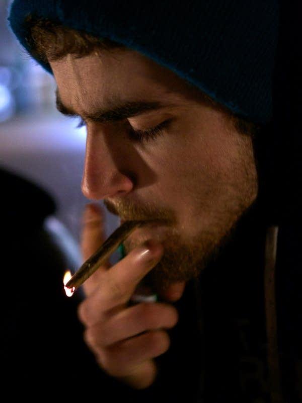 Residents celebrate as marijuana use becomes legal