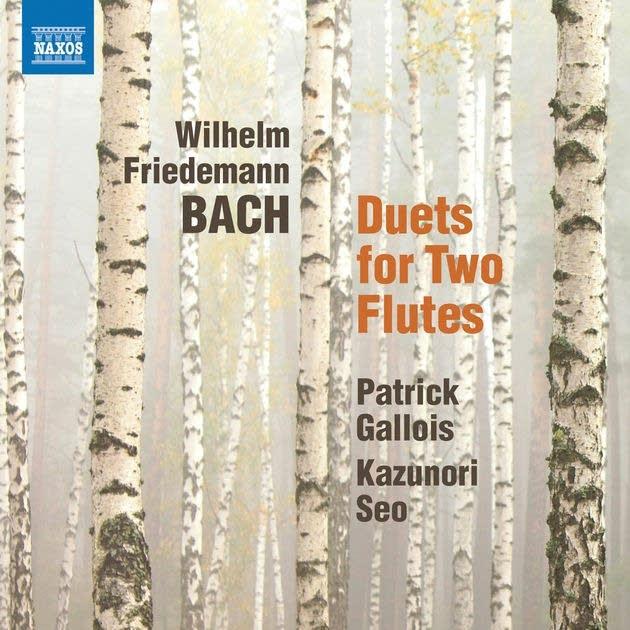 Wilhelm Friedemann Bach - Duet No. 4 for 2 Flutes: I. Allegro e moderato