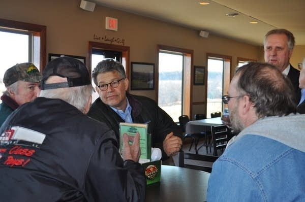 Franken meets with farmers