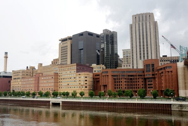 West building complex