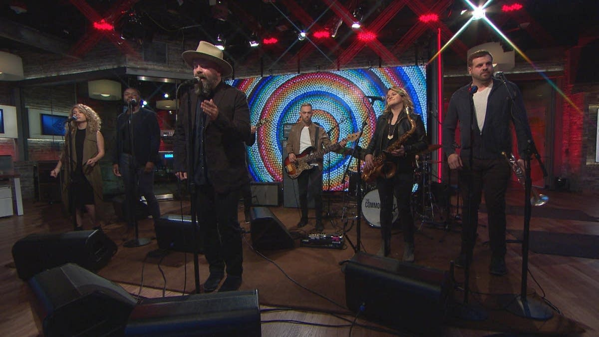 The Commonheart performing on CBS This Morning Saturday Sessions