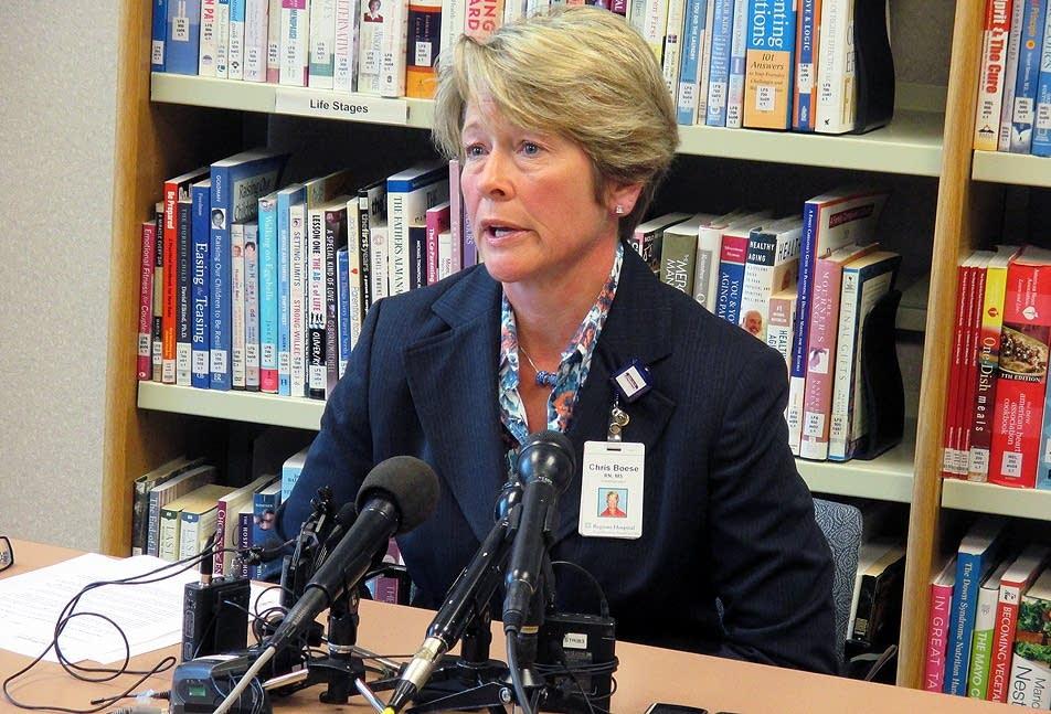 Christine Boese, Regions Hospital spokeswoman