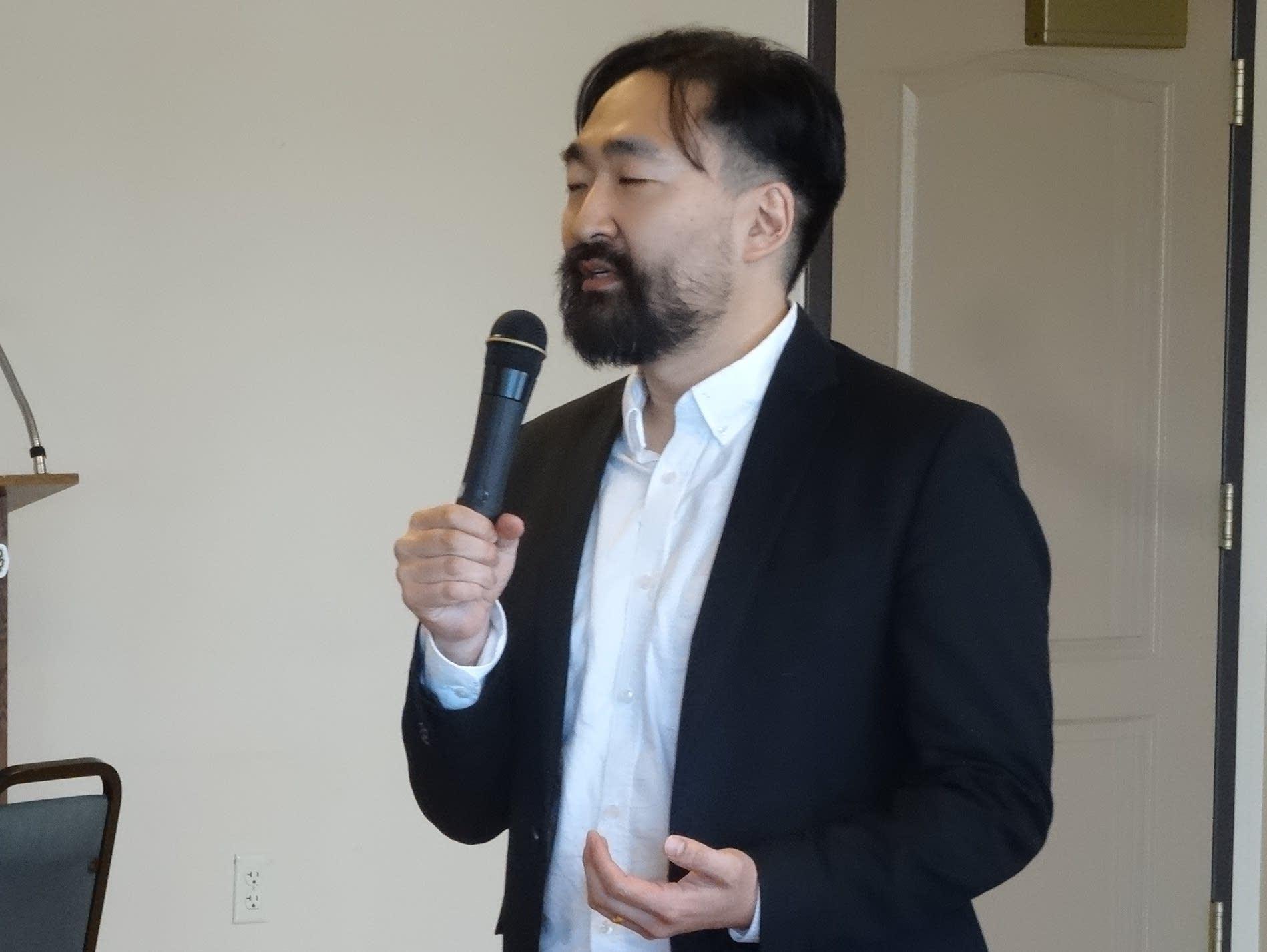 K America Foundation president Byongchan Yoon.