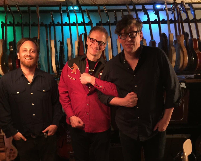 The Black Keys and Jim McGuinn at Easy Eye Sound Studios