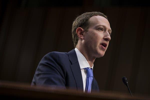 Mark Zuckerberg testifies at Joint Senate Commerce/Judiciary hearing.