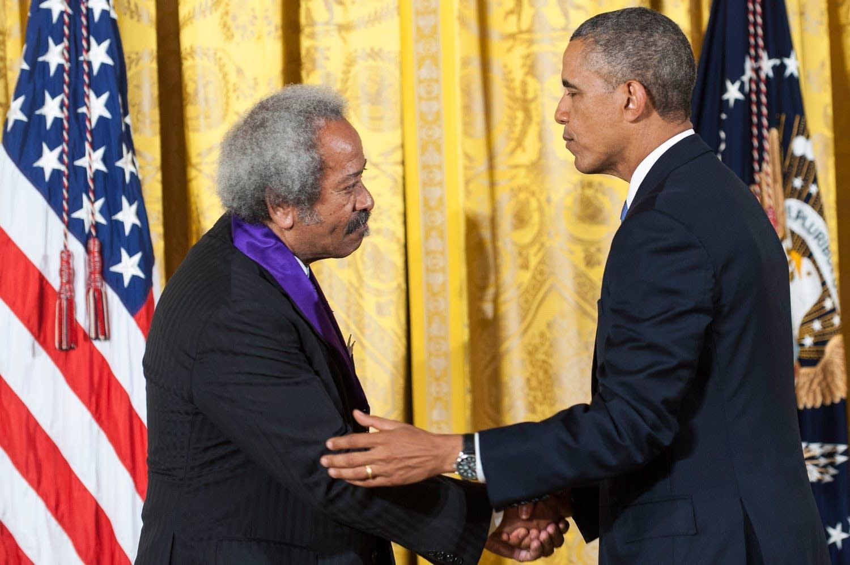 President Obama Awards Allen Toussaint