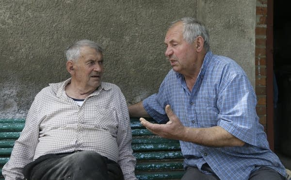 Heorhiy Syvyi, Ivan Hrushka