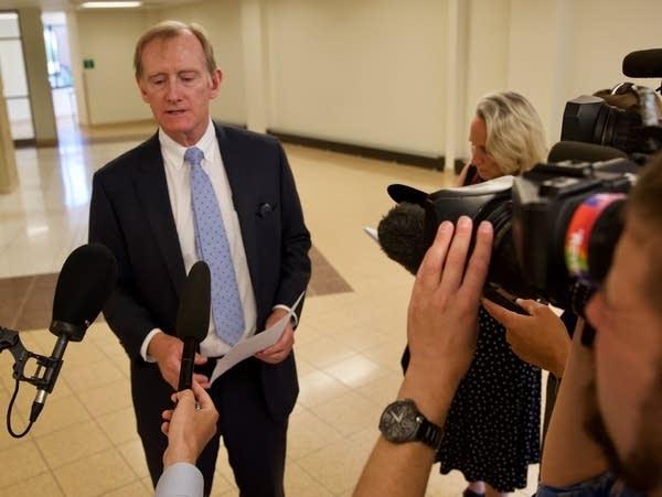 Kevin Short, attorney for Washington County deputy Brian Krook