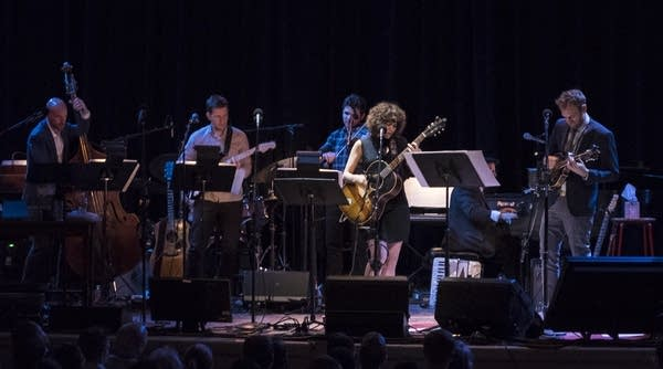 """Solemncholy"" Gaby Moreno and band"