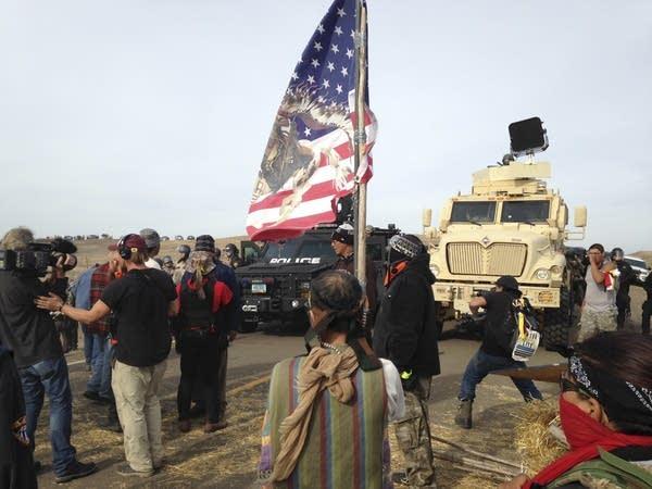 Dakota Access pipeline protesters
