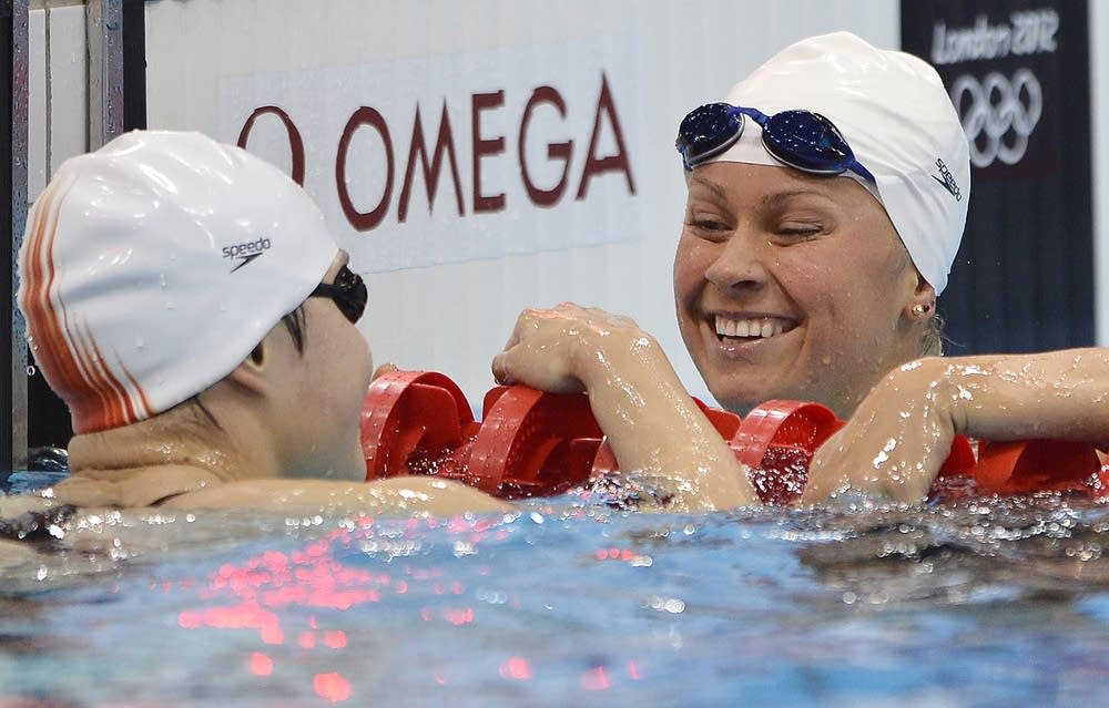 US swimmer  Elizabeth Beisel