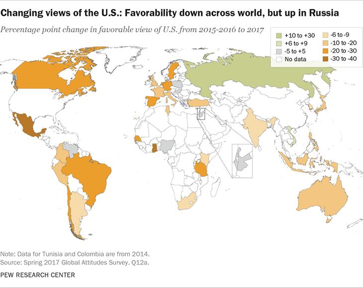 Majority of global poll respondents find Trump arrogant, dangerous