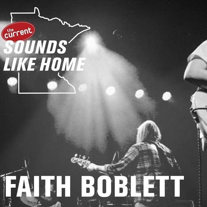 Digital flyer for Sounds Like Home performance.
