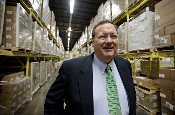 Richard Murphy, CEO of Murphy Warehouse Co.
