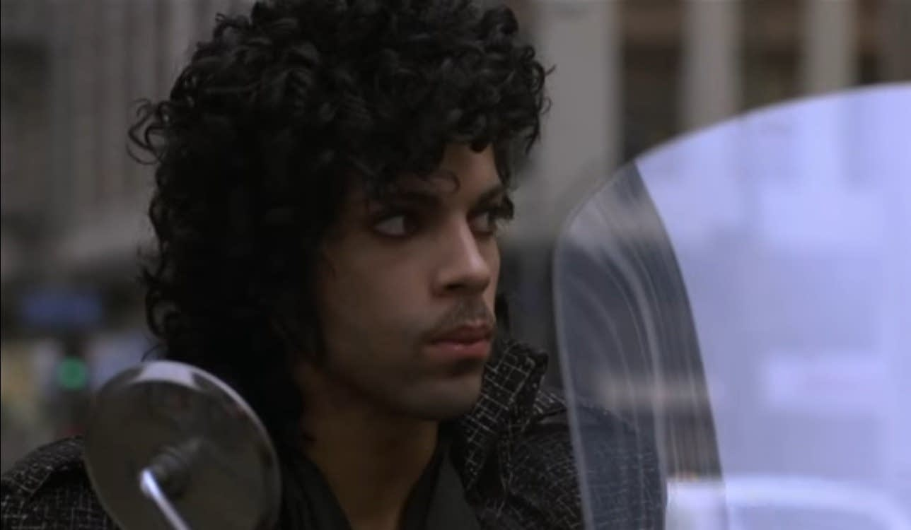 "Prince: ""When Doves Cry"" in 'Purple Rain'"