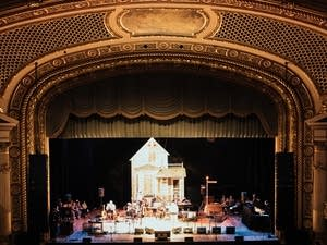 """A Prairie Home Companion"" show at the State Theater in Minneapolis."