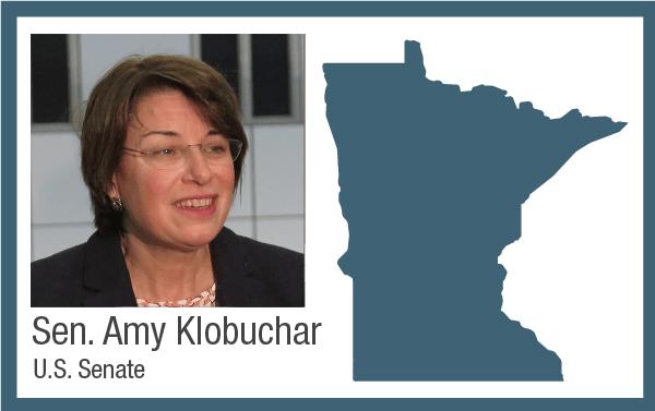 U.S. Senator Amy Klobuchar, DFL