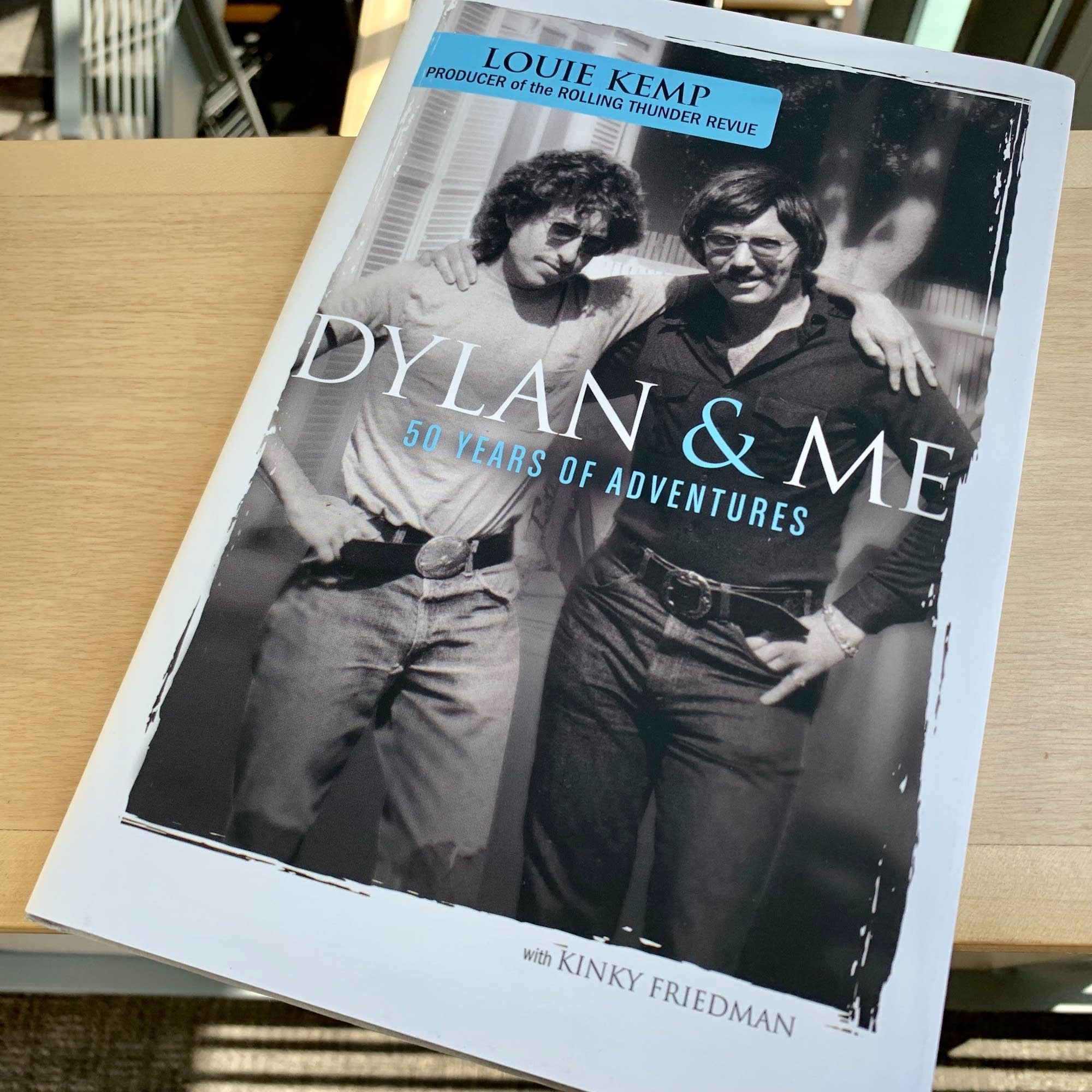Louie Kemp's book 'Dylan & Me.'