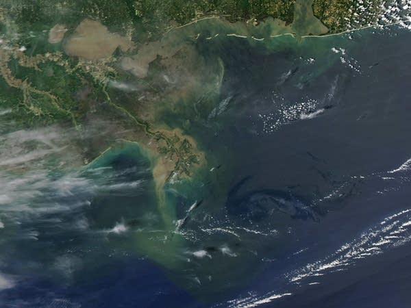 Louisiana oil spill