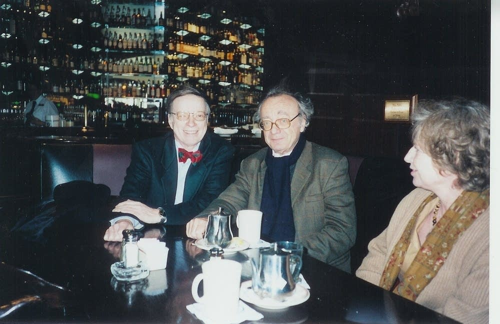 Bruce Carlson and Alfred Brendel