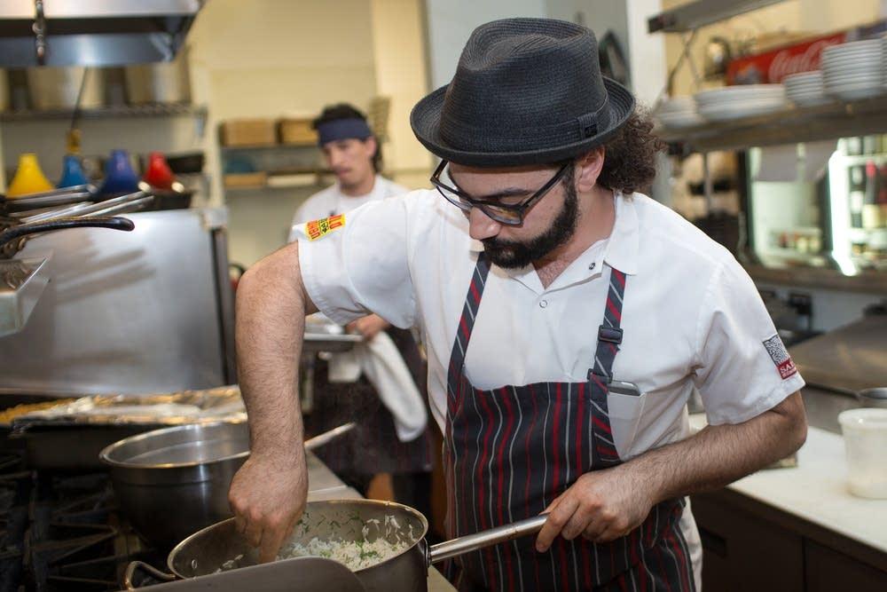Minneapolis restaurateur Sameh Wadi
