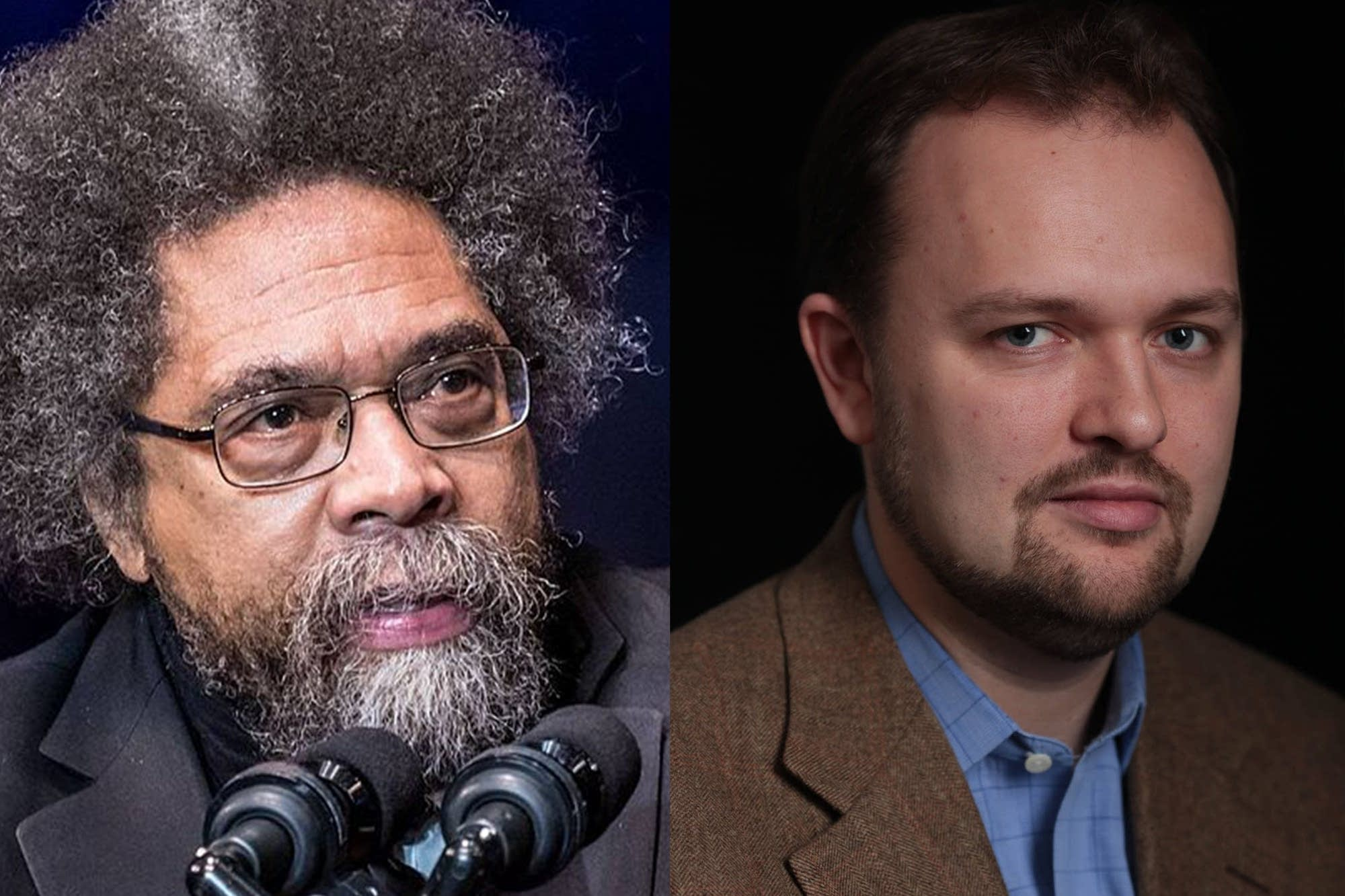 Cornel West and Ross Douthat