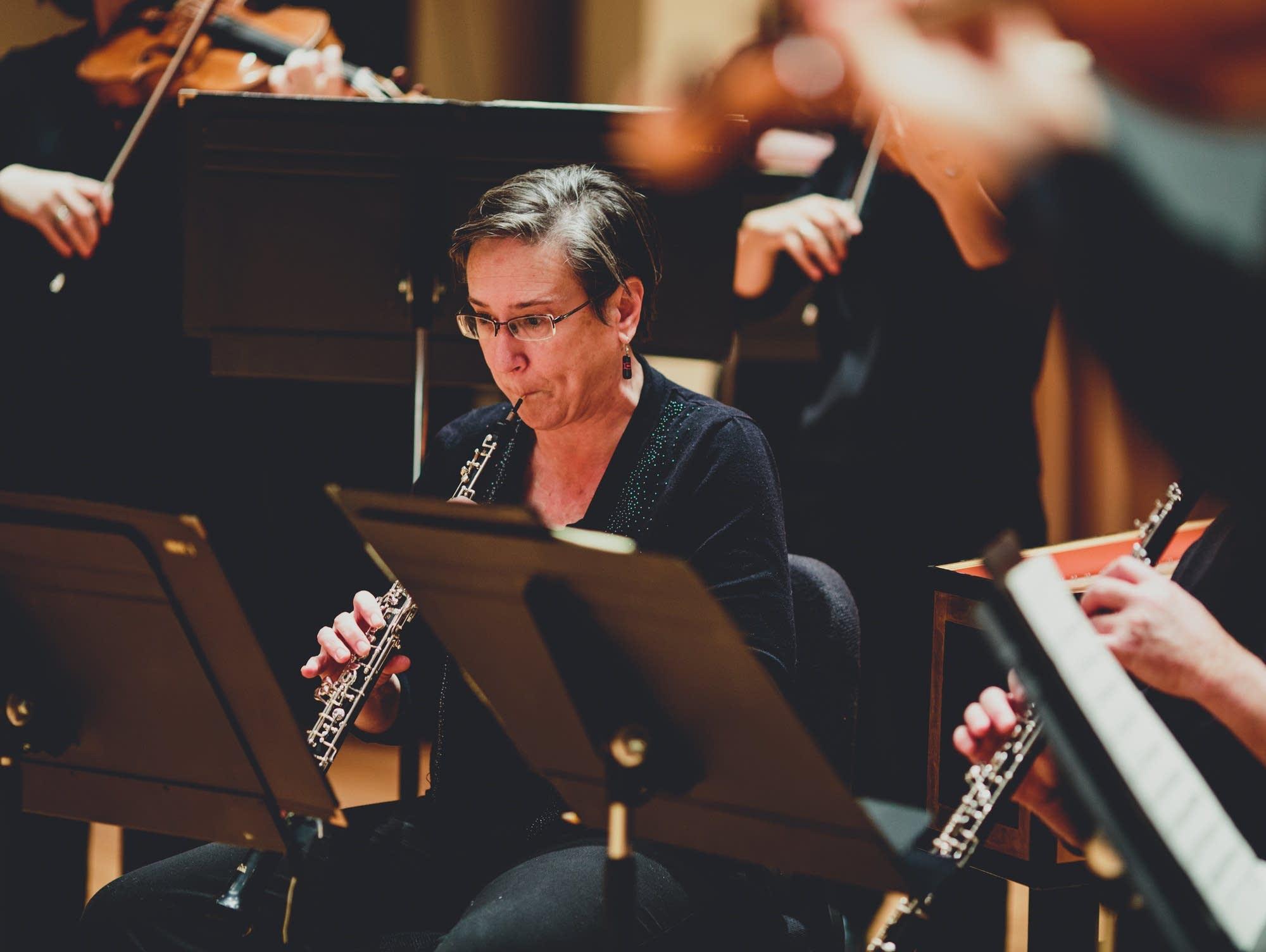 SPCO principal oboist Kathryn Greenbank