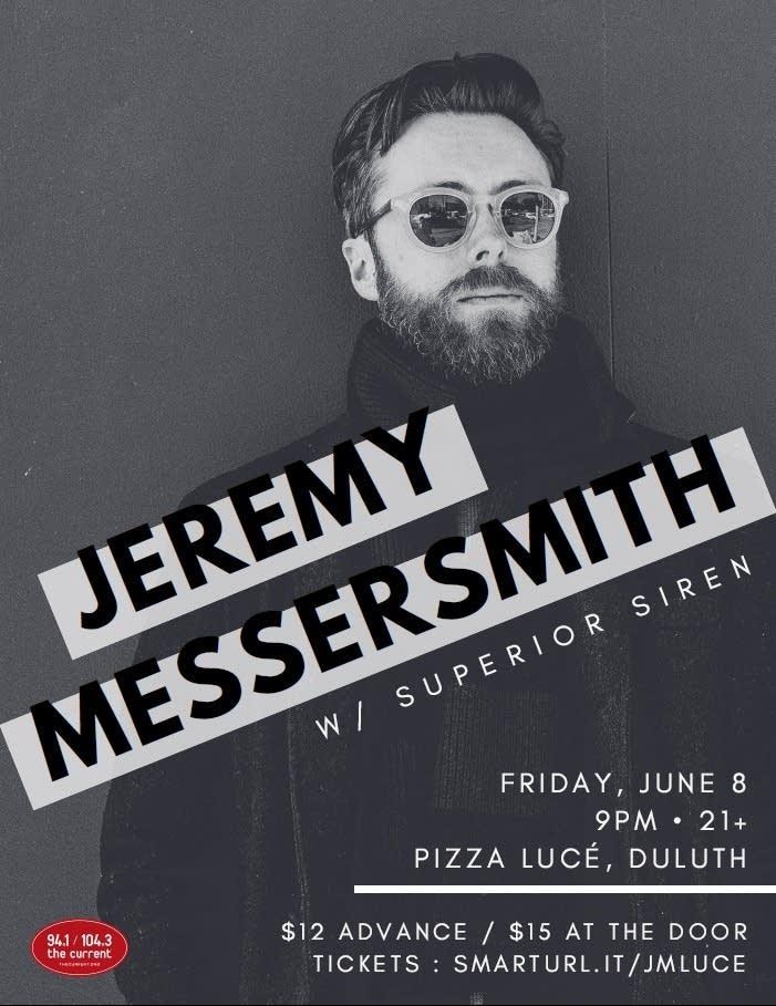 Jeremy Messersmith at pizza luce duluth