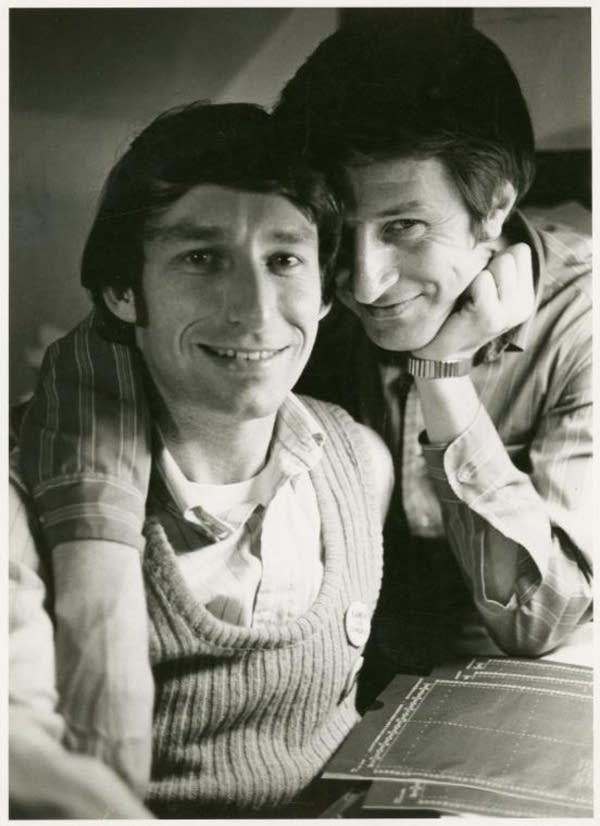 Michael McConnell and Jack Baker, circa 1970