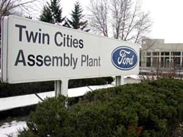 Twin Cities Ford plant sign