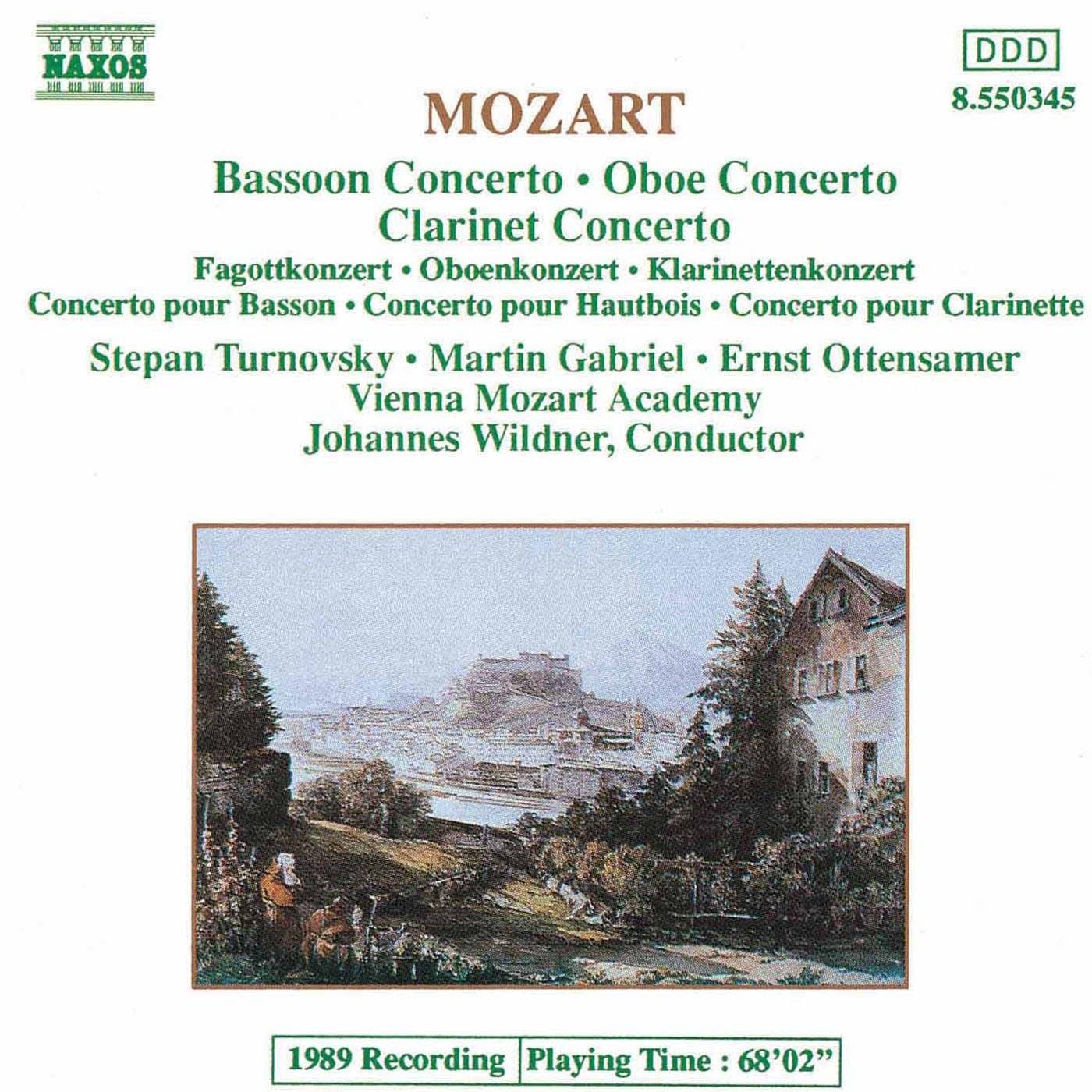 Wolfgang Amadeus Mozart - Oboe Concerto: I. Allegro aperto