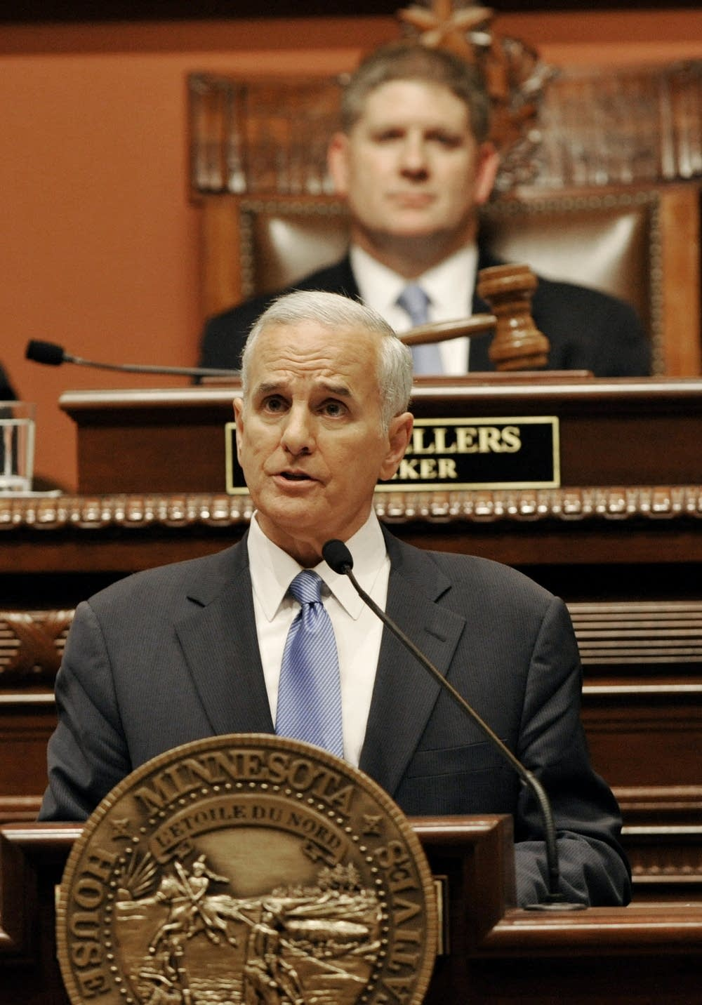 Mark Dayton, Kurt Zellers
