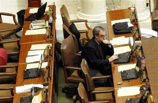 Lone lawmaker