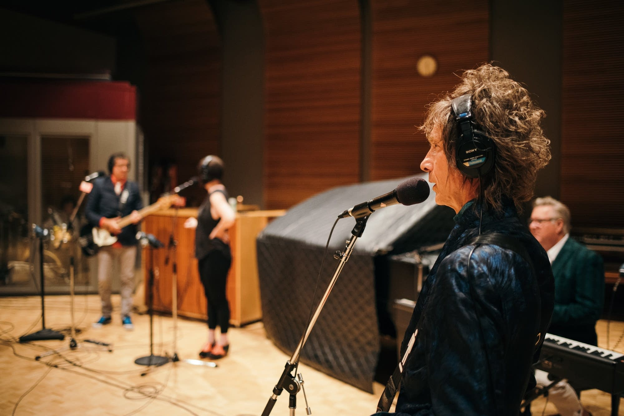 The Suburbs perform in The Current studio
