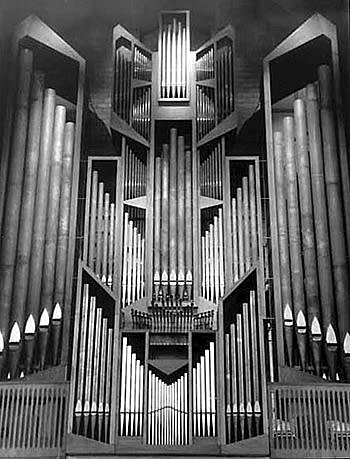 1965 Flentrop organ at Saint Mark's Cathedral, Seattle, WA