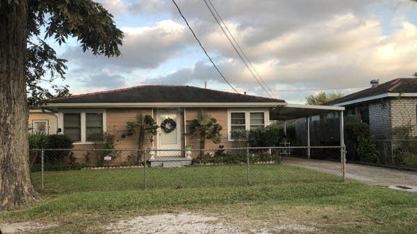 Clyde Simpson's house