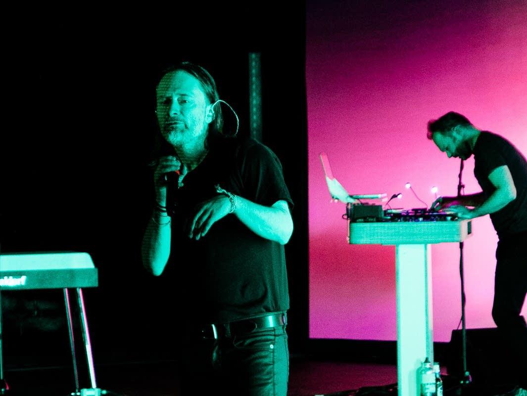Thom Yorke solo Northrop Maddy Fox