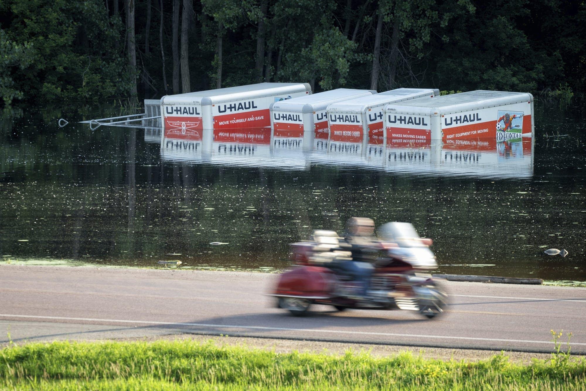 Flooding inundates businesses