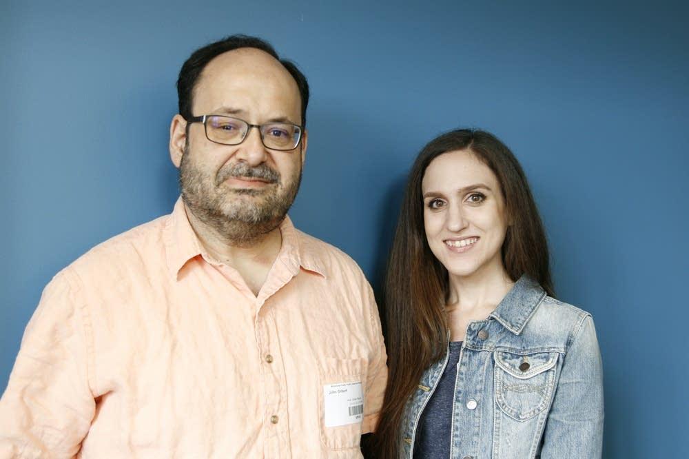 John Gilbert and Francesca Tortorello