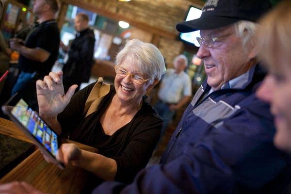 Joanne and Art Seaberg at O'Gara's