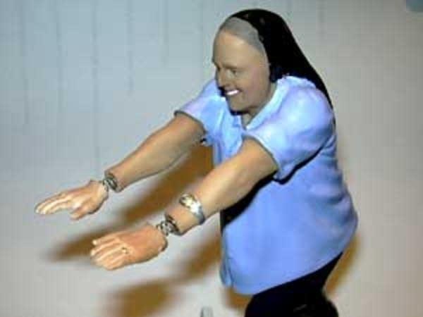 Sister Rosalind bobble doll