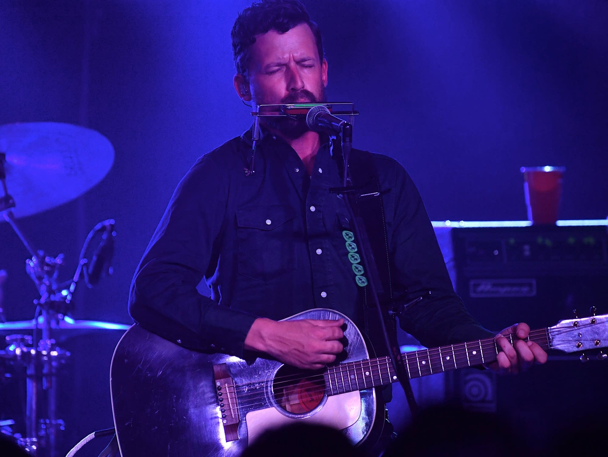 Turnpike Troubadours performs on-stage during the Americana Music Festival