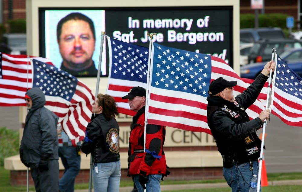 Visitation for Sgt. Bergeron