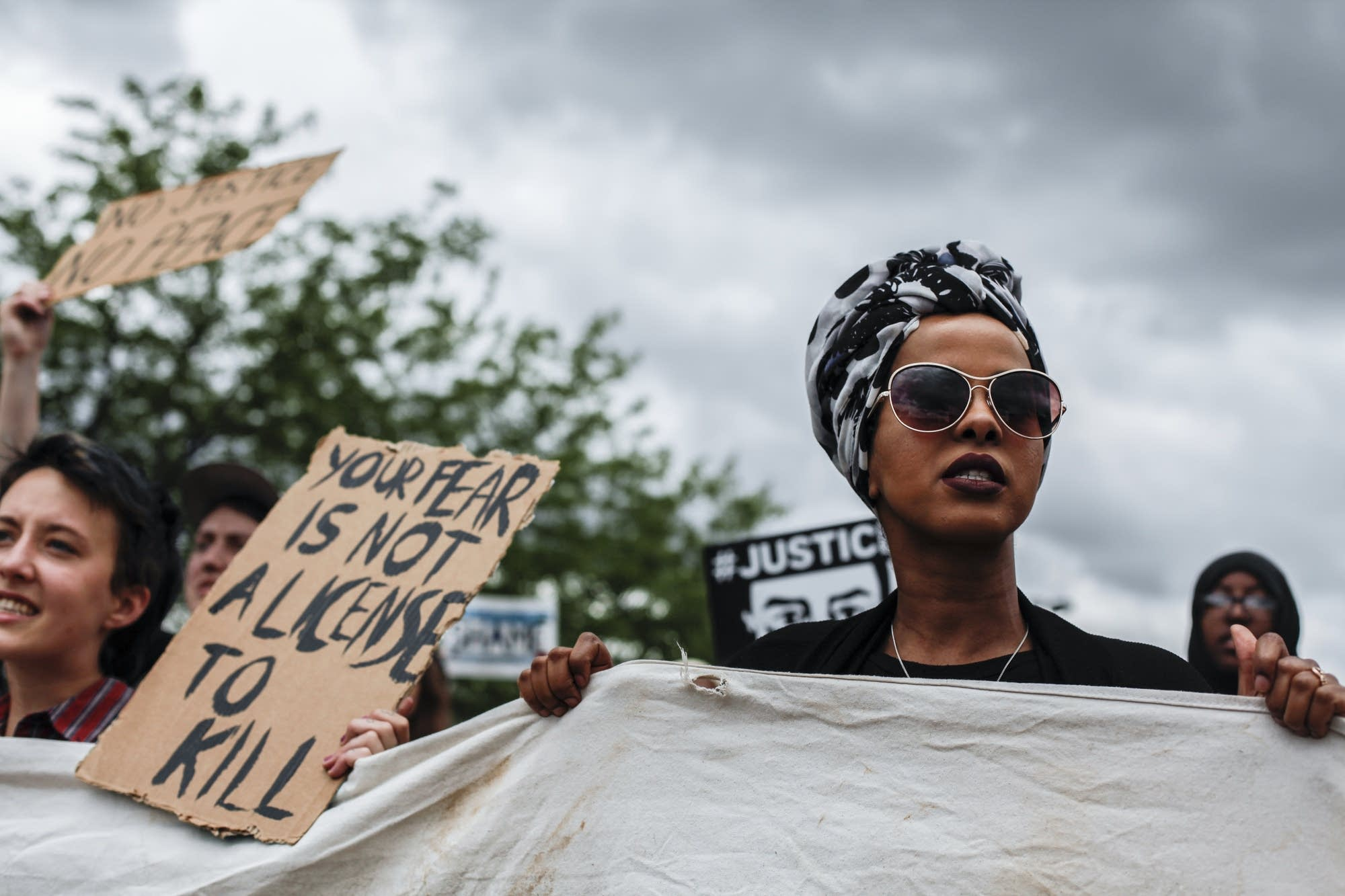 Hundreds showed up on Father's Day to remember Philando Castile.