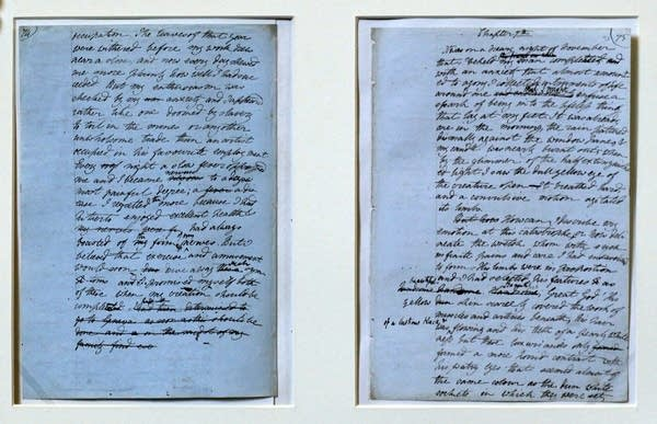 Mary Shelley Manuscripts At The Bodleian Library