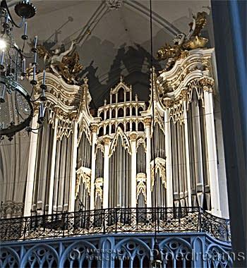 1976 Rieger organ at Augustinerkirche, Vienna, Austria